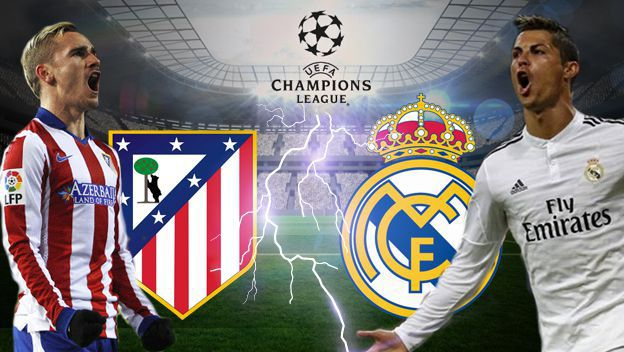 ATLETICO MADRID - REAL MADRID : 2 - 1 (cumul 2 - 4) (1/2 finale Retour - Champion's League)