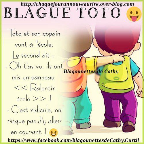 Blague Sur Le Thème Toto Blagounettes De Cathy
