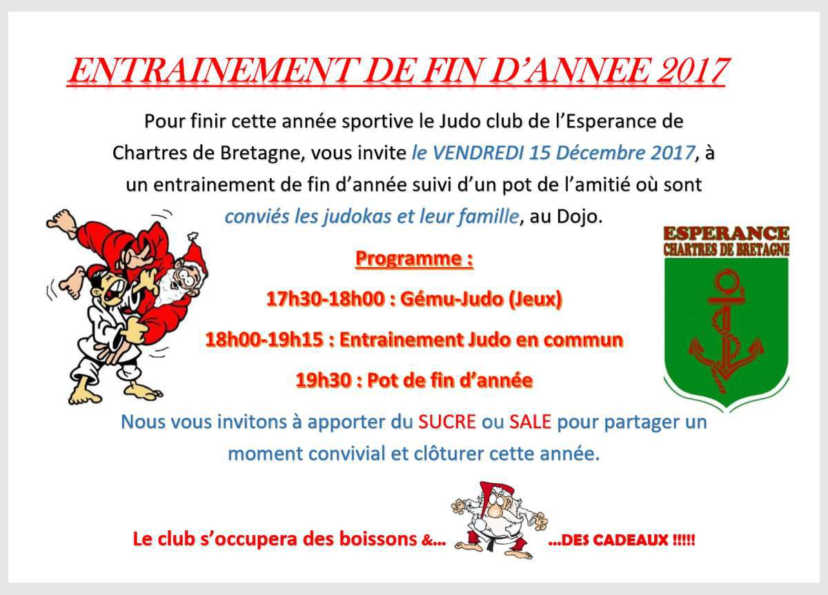 invitation pot de fin d annee