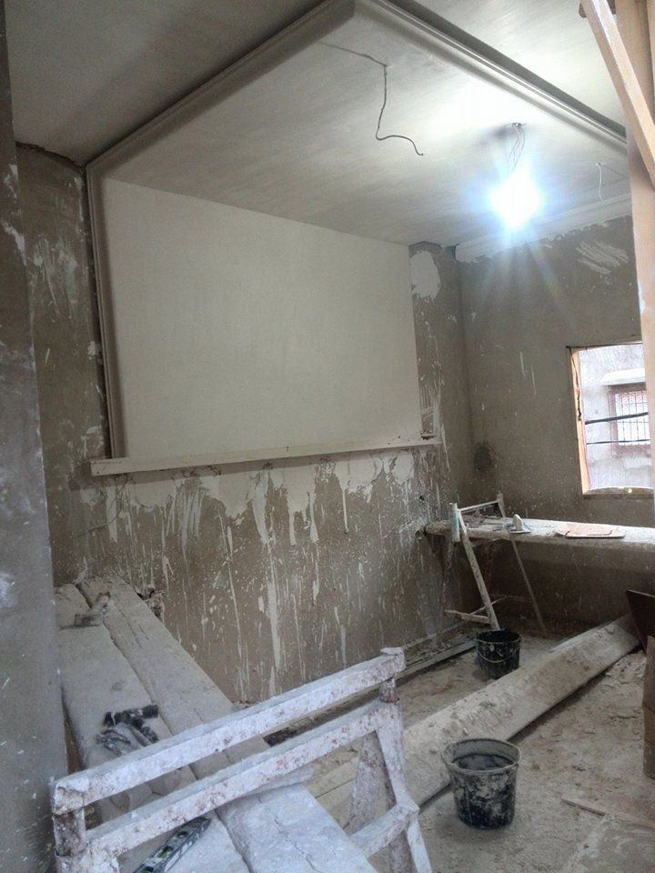 Quelques chantiers pendant les travaux : Décoration plâtre marocaine ...