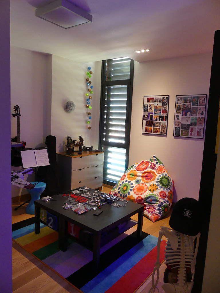 Chambre Dado Geek Partie 2 Gros Pouf Laure De Praha