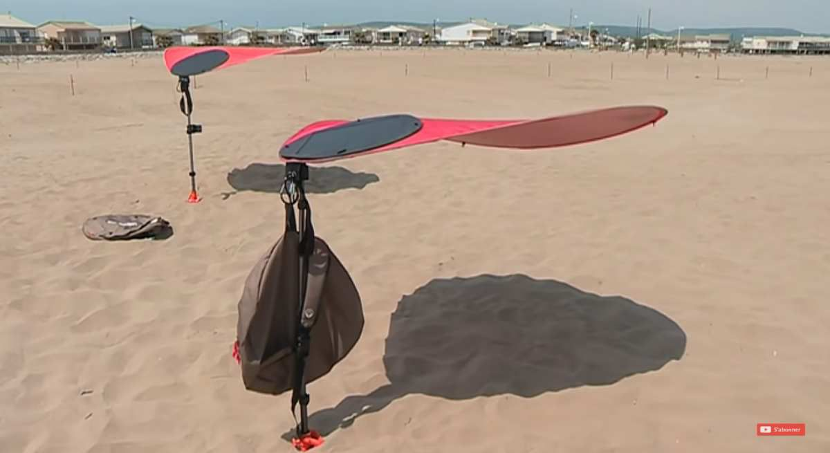 Video Un Parasol Qui Ne Senvole Pas Au Vent Linvention