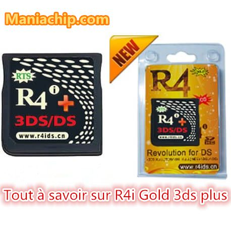 FAQ sur la carte R4i gold 3ds plus | Timebomb, firmware, émulateurs
