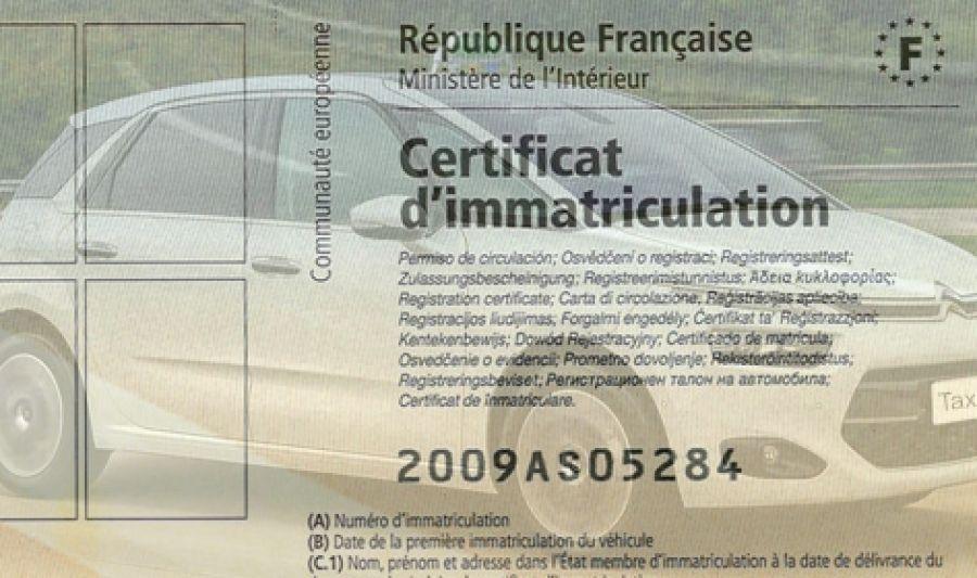 certificat de conformite europeen immatriculation d 39 une. Black Bedroom Furniture Sets. Home Design Ideas