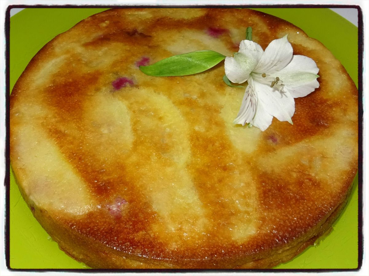 Gâteau Invisible Pomme Framboise Recettes Faciles Les Gâteaux De