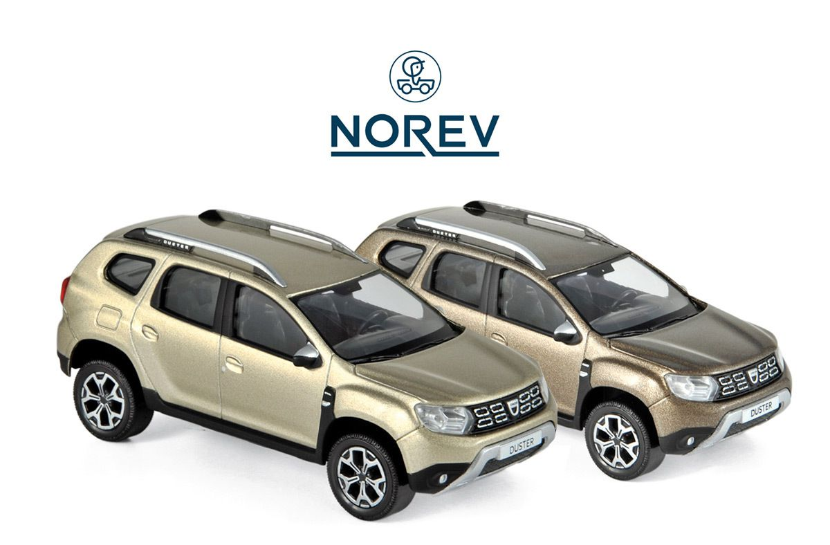DACIA DUSTER 2018 Vison Brown NOREV 1//43 Ref 509001