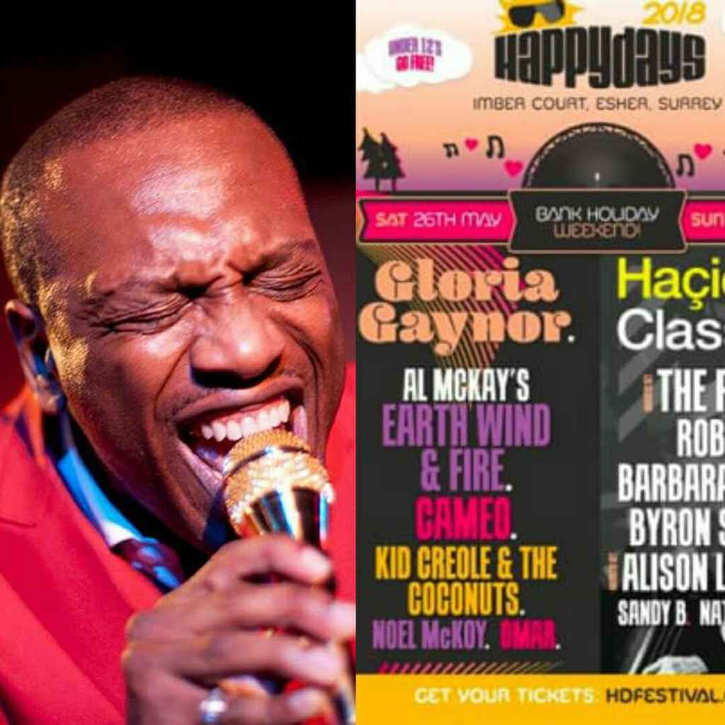 Special Guest Noel McKoy Live at Giants of Reggae 2018