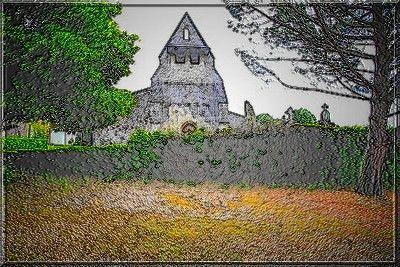 Que pensez vous du système défensif de cette église ?