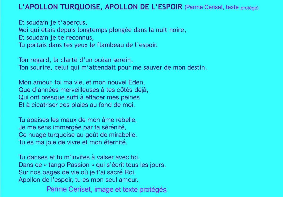 Lapollon Turquoise Poème Parme Ceriset Parme Ceriset La