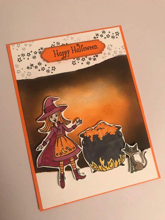 Carte pour Halloween!