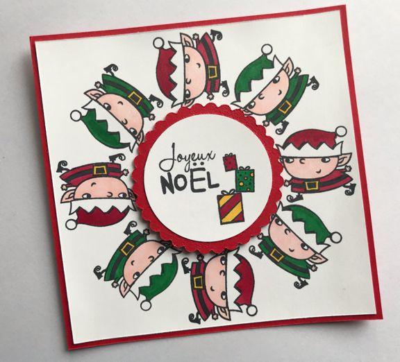 Stampin'Up! Blog Hop sur le thème de Noël!