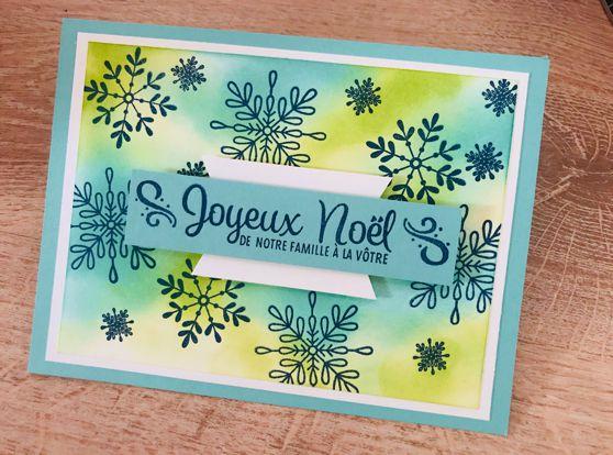 Carte Noël suite...