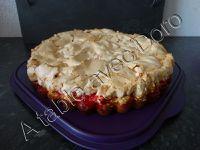 Gâteau aux groseilles meringué