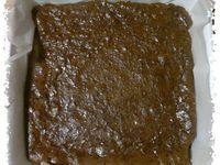 Brownie au chocolat et aux poivrons confits
