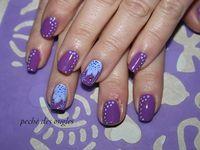 Nail art-one stroke!