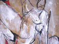 Acrylique + pastel sur carton / F : 60x75 cm / 2003