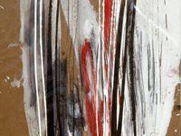 Acrylique + crayon + pastel sur médium / F : 30x30 cm / 2011