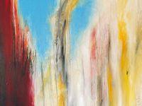 Acrylique + pastel sur toile / F : 60x60 cm / 2004