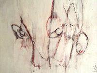 Acrylique + crayon + pastel sur médium / F : 30x30 cm / 2013