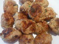 Boulettes de viande aux flocons d'avoine
