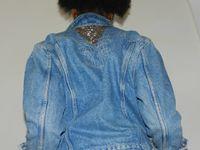 Remake de cendrillon ou comment une simple veste en jean devient tendance :)...