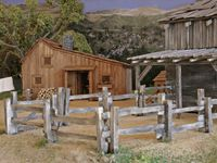Plum Creek - Walnut Grove (maquette)