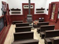 L'église (école) de la petite maison dans la prairie (maquette)