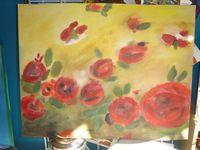 Peintures en fleurs