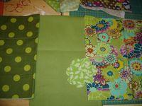 Etape 2 : ça se précise / choix de tissus pour les boudins