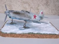 YAK-1 russe ACCURATE MINIATURES 1/48