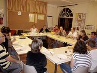 Le culte participatif de rentrée, un événement particulièrement joyeux