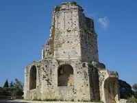 Nimes : arènes, tour Magne et maison carrée - Pont du Gard