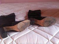 Bottes en cuir marron Tosca Blue 40€