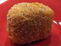 Cromesquis de Mozzarella Sans Gluten - pour environ 25 billes