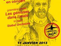 Concerts de soutien à la ZAD et aux RésistantEs de NDDL