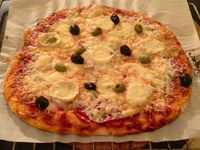 Pâte a pizza maison au thermomix