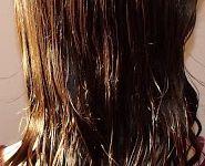 Mes Cheveux séchés au naturel& mouillés (dernière photo) en Septembre 2012 du 16 au 29 & Coiffure avec flexi-8 en Fimo.