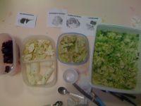 Let's taste our vegetables !