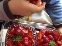 Salade aux fraises et aux citrons