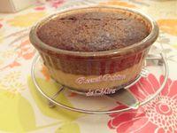 Gâteau magique &quot&#x3B;chocolat, crème caramel&quot&#x3B;