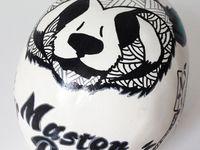 Tête de mort Skull Master Panda