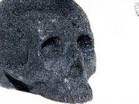 Tête de mort, Skull, Caviar Skull Strass Black