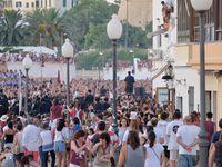 Sant Joan le samedi en fin d'après midi pour l'apothéose des artistes....