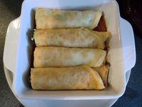 Gratin de crêpes saumon fumé &amp&#x3B; épinards