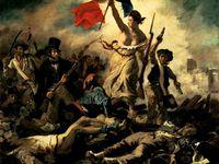 La Liberté guidant le peuple d'Eugène Delacroix / Rancinan  / Jean Pierre Re