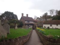 Dunster church et son garden