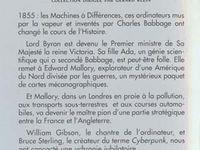 """Gérard Klein """"Préface"""" in """"La Machine à différences"""" de William Gibson & Bruce Sterling (2001)"""