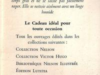 """J.-H. Rosny aîné """"La Guerre du Feu"""" aux éditions Nelson (site Nelson's Collections par 3P)"""