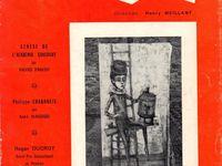 """Maurice d'Hartoy """"Genèse de l'Académie Goncourt"""" in Arts et Poésies n°26/36 (automne 1966)"""
