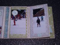 Papier murmure blanc&#x3B; framelits et tampons çà bulle&#x3B; set de tampons Good Greetings et Gorgeous Grunge&#x3B; framelits carte dépliable cercle et grands festons&#x3B; perforatrice Boho Blossoms et étiquette festonnée&#x3B; ruban adhésif Douce Nuit&#x3B; ficelle à rôtir  Baie des Bermudes.